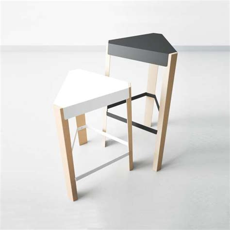 Tabouret A Dossier by Tabouret A Dossier