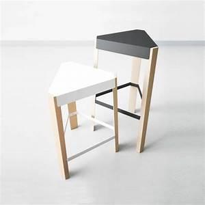 Tabouret Bois Design : tabouret snack design sans dossier en m tal et bois podio 4 ~ Teatrodelosmanantiales.com Idées de Décoration
