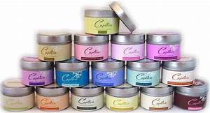 tins With candle tin labels