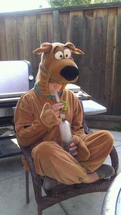Scooby Doo Smoking Weed