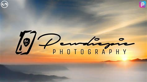 photography signature logo picsart tutorial youtube
