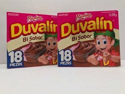 1 Box of Duvalin BI Sabor 18 pcs Mexican Sweet Candy Candy ...