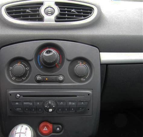 autoradio renault clio 3 autoradio einbau tipps infos hilfe zur autoradio installation 187 autoradio tausch renault clio
