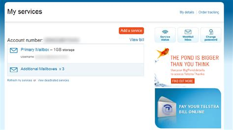 How To Set Up An Extra Email Address On Bigpond