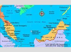 Malaysia Map Infoplease