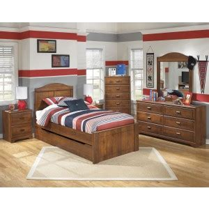 barchan panel bed  trundle bernie phyls furniture