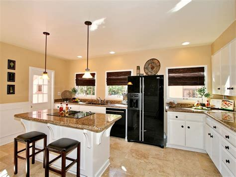 l shaped kitchen with island layout l shaped kitchen designs hgtv