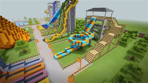 Water Park Maps For Minecraft Pe For Android