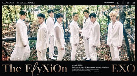 exo  stage  world  exo planet   eyxion  singapore soompi