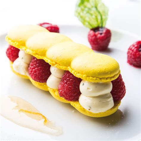 macarons citron basilic arts gastronomie