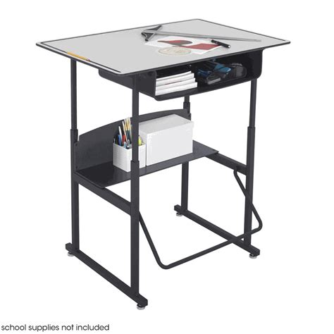 safco alphabetter 24 quot x 36 quot student desk in gray book box