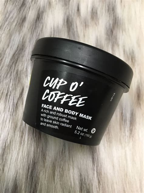 This mask has coffee beans which wake up your skin and. Fierce Friday- I try Lush's Cup O' Coffee Mask | Coffee mask, Coffee face mask, Lush cup o coffee