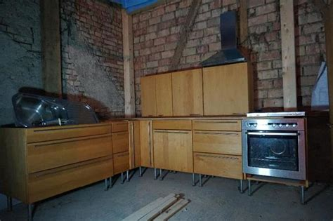 küche l form gebraucht team 7 k 252 che erle massiv l form rondo in singen k 252 chenzeilen anbauk 252 chen kaufen und