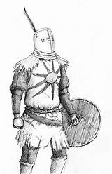Souls Dark Solaire Drawing Knight Draw Drawn Deviantart Sketch Astora Coloring Concept Uploaded Larger Credit sketch template