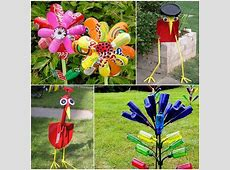 Amazing Garden Art From Recycled Materials Ideas Plan 3D