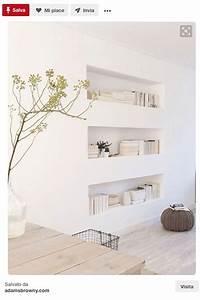 Parete attrezzata in cartongesso: in soggiorno, camera e cucina
