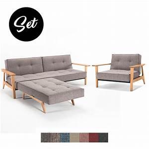 Innovation Sofa Splitback : splitback frej sofa und sessel g nstig im set kaufen buerado ~ Whattoseeinmadrid.com Haus und Dekorationen