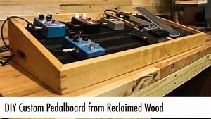 Homemade Guitar Pedal Board Plans