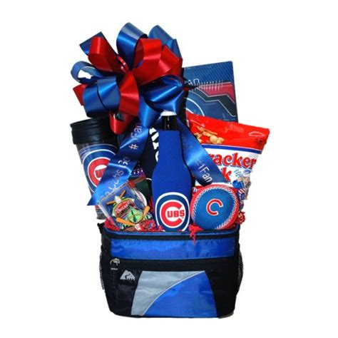gifts for cubs fans go cubbies chicago cubs gift basket