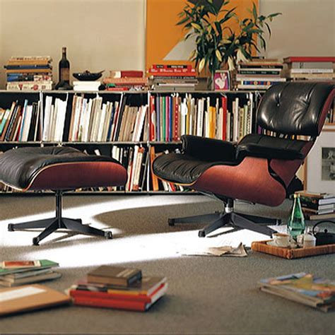 Eames And Ottoman by Lounge Chair Ottoman Santos Palisander