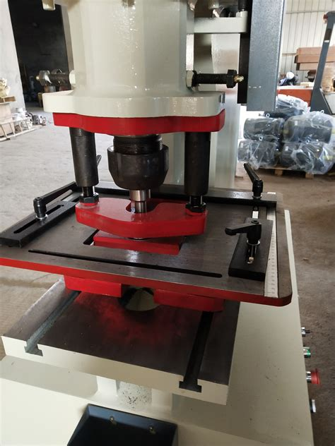 90t 100t Angel Steel Hydraulic Hole Punching Machine For