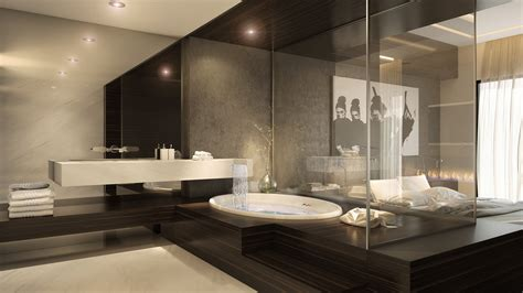 Luxe Modern Living Bathroom Accessories by Ultra Luxury Apartment Design