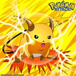 Pokemon Raichu Attacks