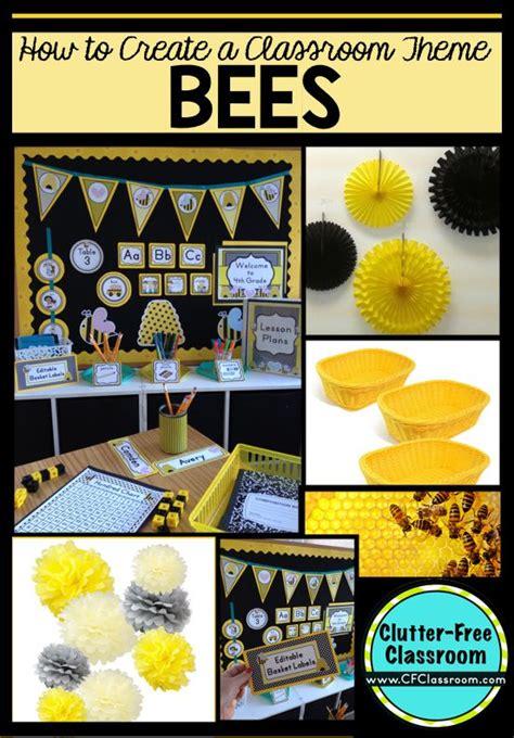 Bees Themed Classroom  Ideas & Printable Classroom