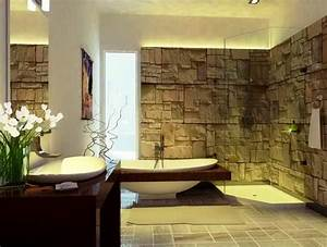 23 natural bathroom decorating pictures With using pebbles for unique natural decorating bathroom ideas