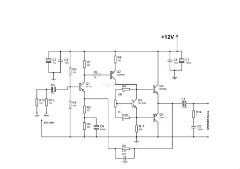 bd139 bd140 audio amplifier electronics   robots wiring diagram for ac capacitor