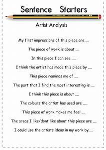 Creative writing starter sentence Starter Sentences