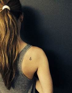 28 Cute Anchor Tattoo Designs