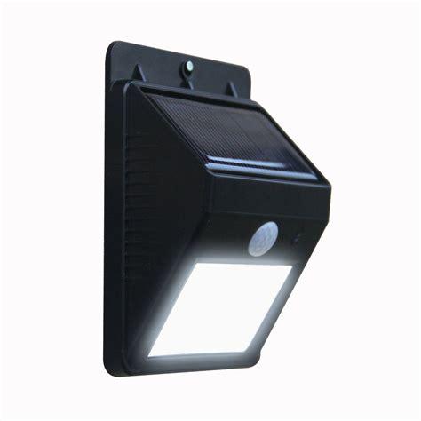 led motion light outdoor led wireless solar powered motion sensor light