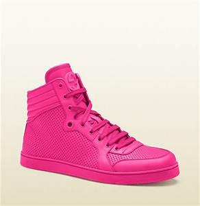 Gucci's Coda Neon Sneaker Pink – I m a Shopaholic
