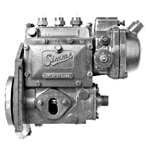simms fuel injection pump diaphragm  piston  spea