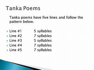 haiku tanka cinquain and diamante ppt video online With tanka poem template