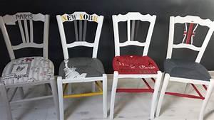 Relooker Des Chaises : peindre le rotin l 39 osier ou la paille d 39 une chaise eleonore d co ~ Melissatoandfro.com Idées de Décoration