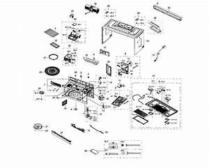 Samsung Microwave  Hood Combo Parts