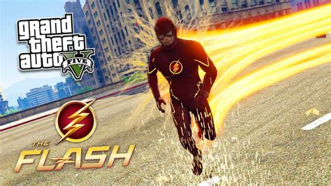 The Flash Mod! Gta 5 The Flash Mod