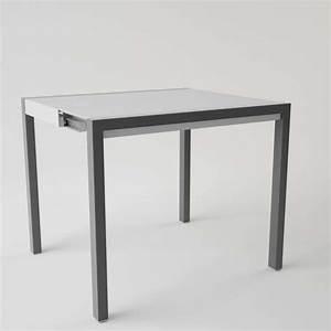 Verre Pour Table : table en verre extensible pour petit espace concept minor 4 ~ Teatrodelosmanantiales.com Idées de Décoration