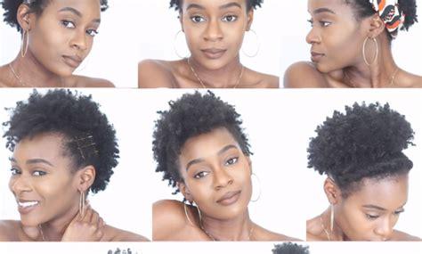 black womens natural hair styles aahv black