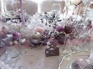 Deco Table Rose Et Gris : deco table noel gris et rose d coration de no l d co colo ~ Melissatoandfro.com Idées de Décoration