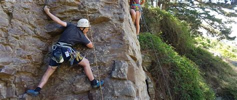 Abseiling Climbing Course Oenz Outdoor Education New