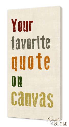 custom canvas art  custom quote prints