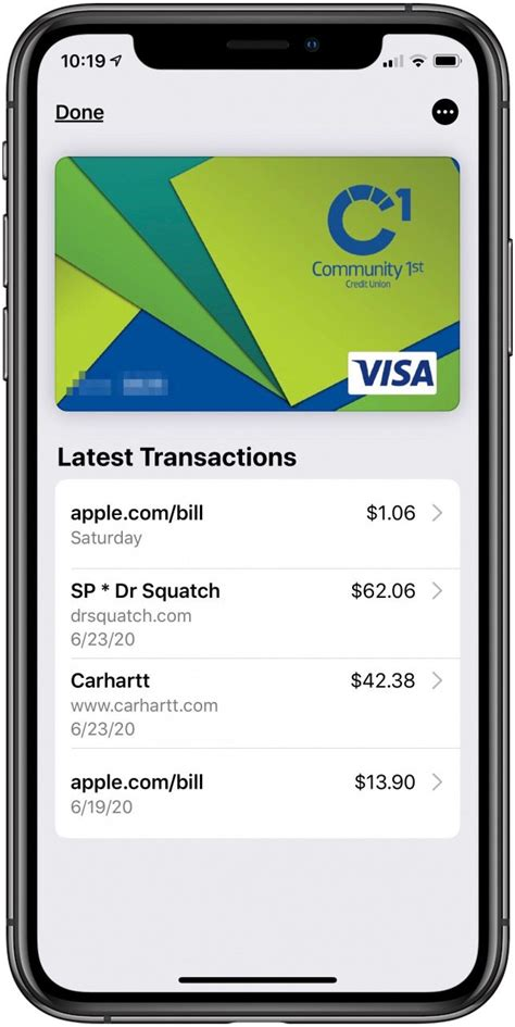 Make sure that the credit card or debit card number follows the proper format. How to Quickly Check Recent Apple Pay Activity on Your iPhone