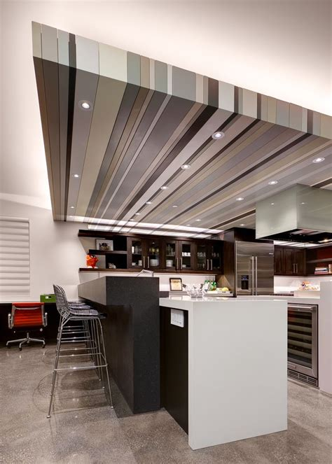 Lowered Ceiling Ideas by Another Angle Of The Kitchen Remodel Emphasizing Our Led