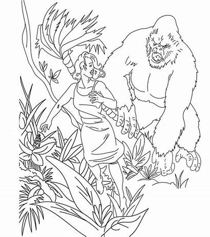 Kong King Coloring Pages Skull Momjunction Bestcoloringpagesforkids