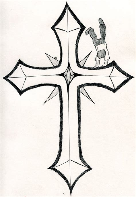 Easy Cool Cross Drawings  Wwwpixsharkcom Images