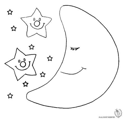 Disegni Colorare Stelle Sole Luna Disegno Portal Tattoo