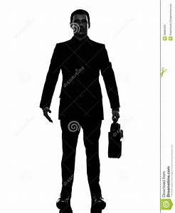 Business Man Standing Silhouette Stock Images - Image ...